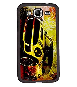 Fuson 2D Printed Car Designer back case cover for Samsung Galaxy Mega 5.8 I9150 / I9152 - D4480