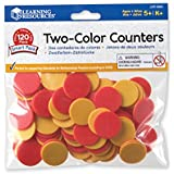 Learning Resources Two-Colour Counters (Set of 120)