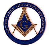 Masonic Exchange Ancient Free and Accepted Mason Auto Emblem Car Decal