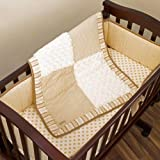 Snickerdoodle 3 Piece Baby Cradle Bedding Set by Cocalo
