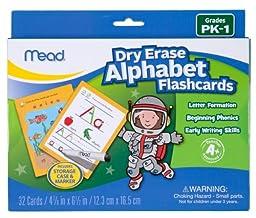 Mead Dry Erase Flashcard Alphabet (63014)