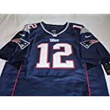 New England Patriots Tom Brady On-field Jersey, Blue