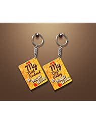 Gift For Karvachauth_Couple Key Chain_For Those In Love