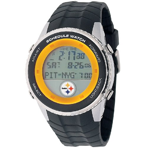 NFL Men's NFL-SW-PIT Schedule Series Pittsburgh Steelers Watch