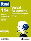 img - for Bond 11+: Verbal Reasoning: Stretch Practice: 9-10 Years book / textbook / text book