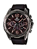 Casio Edifice Stopwatch Chronograph Brown Dial Men's Watch - EFR-538L-5AVUDF (EX184)