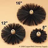 Tongwei Metal PF-12 Sweepsall 12 Inch Round Brush