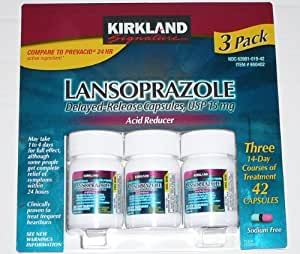 Kirkland Signature Lansoprazole 3 Pack