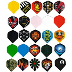 Buy 20 Sets Wholesale Standard Dart Flights by Unknown