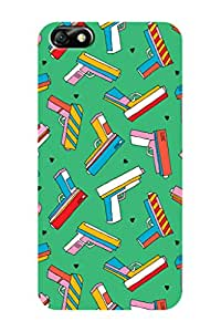 ZAPCASE PRINTED BACK COVER FOR HONOR 4X - Multicolor
