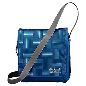 Jack Wolfskin Umhängetasche Interlude, blue woven checks, ONE SIZE, 11 Liter, 25028-7483