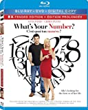 What's Your Number? [Blu-ray + DVD + Digital Copy] (Bilingual)