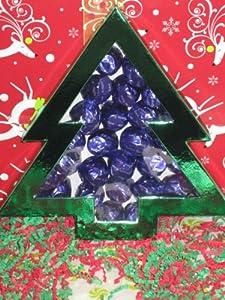 Diabetic Candy Christmas Tree Gift Box Dark Chocolate Cordial Cherries Sugar Free