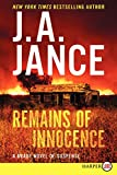 Remains of Innocence LP: A Brady Novel of Suspense (Joanna Brady Mysteries)