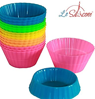 Le Silicone, Dual-Size Silicone Baking Cups