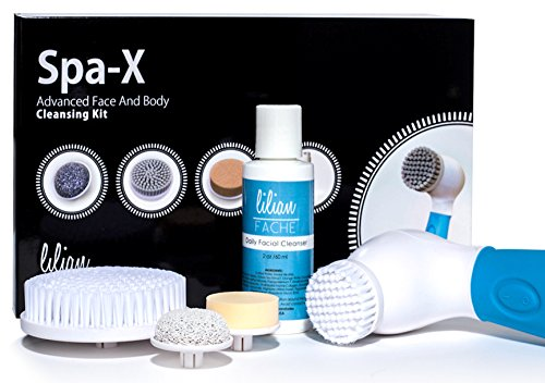 Lilian Fache Spa-X Advanced Waterproof Facial and Body Cleansing Kit (Electric Face Brushes compare prices)