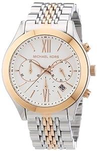 Michael Kors Damen-Armbanduhr Chronograph Quarz Edelstahl MK5763