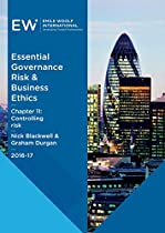 ESSENTIAL GOVERNANCE, RISK & BUSINESS ETHICS - CHAPTER 11: CONTROLLING RISK - 2016-17