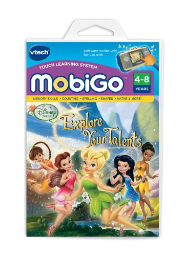 Vtech MobiGo Software Disney Fairies - Explore your Talents