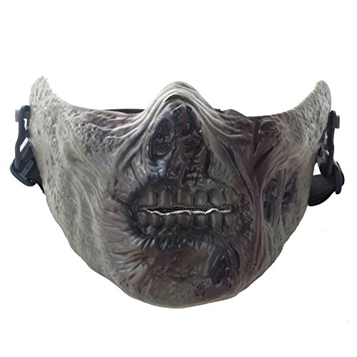 Zombie Gray M05 COD Seals Skeleton Half Face Mask CS Tactics Protective mask