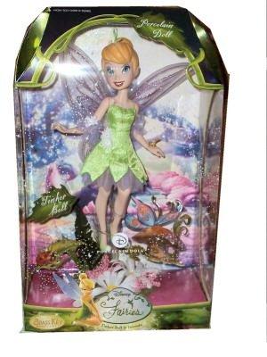 Disney Fairies Porcelain Tinker Bell Doll - Buy Disney Fairies Porcelain Tinker Bell Doll - Purchase Disney Fairies Porcelain Tinker Bell Doll (disney, Toys & Games,Categories,Dolls,Porcelain Dolls)