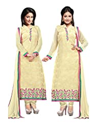 Aarti Saree Fashionable Party Wear Yellow Straight Suit Available In Matching Dupatta And Bottom