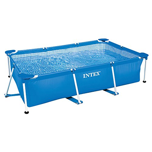Intex Family Schwimmbecke, blau, 300 x 200 x 75 cm