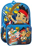 Disney Jake and Pirates School Backpack with Lunch Box Kit 16 Inch