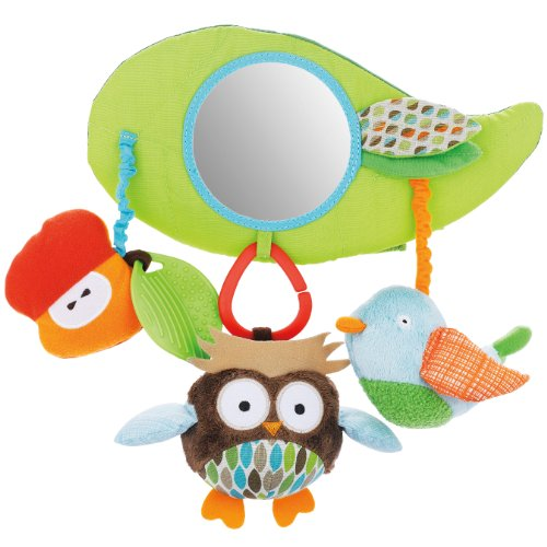 SKIP HOP Treetop Friends Stroller Bar Activity Toy Children Fun Polyester Cotton