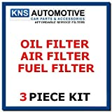 Mitsubishi L200 2.5 D & 2.5TD (97-06) Oil,Fuel & Air Filter Service Kit