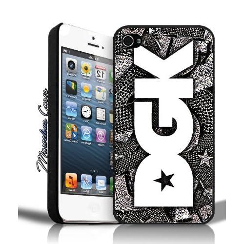 .com: DGK Logo Bling Bling (black & white) iPhone 4/4s Case By MC