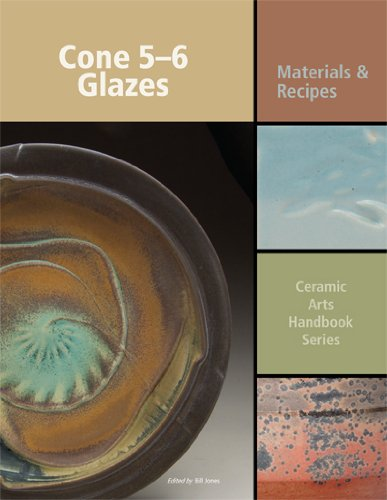 Cone 5-6 Glazes: Materials and Recipes by American Ceramic Society
