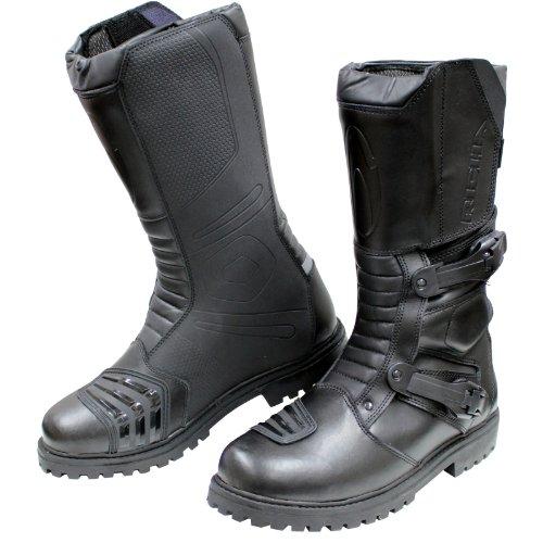 Richa Adventure Motorcycle Boots 44 Black (UK10)