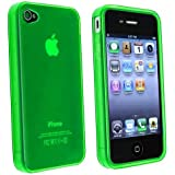 Importer520 Green TPU Flexible Case For Apple Iphone 4 4G 4GS AT&T Verizon