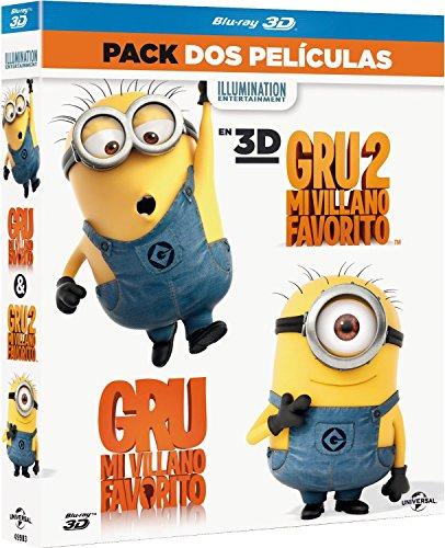 Pack: Gru. Mi Villano Favorito 1+2 (Blu-ray 3D) [Blu-ray]