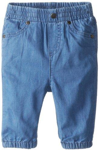 Stella McCartney neonato, Unisex, Pimpkin Pantaloni in tessuto Denim, colore: blu, 6 mesi, colore: blu, taglia: 6 mesi