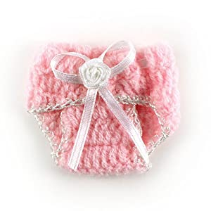 Simple Crochet Pattern For A Baby Blanket : Amazon.com : Knit Crochet Baby Diaper Baby Shower ...
