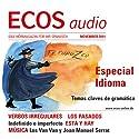 ECOS audio - Verbos irregulares 11/2011: Spanisch lernen Audio - Unregelmäßige Verben Hörbuch von  div Gesprochen von:  div.