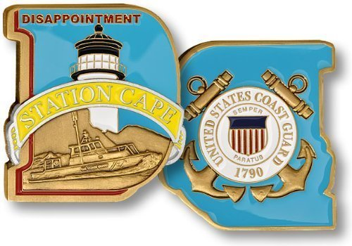 USCG Station Cape Disappointment Challenge Coin