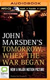 Tomorrow, When the War Began John Marsden