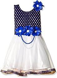 Atayant Girl Evening Dress (ATAYK_005_3:4YR_Royal Blue_M)