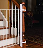 EZ-Fit-Baby-Safety-Gate-Adapter-Kit-Protect-Banisters-and-Walls-Great-for-Children-and-Pets-ONLY-Includes-1-one-adapter-side-Please-review-all-bullets-and-description-prior-to-purchase