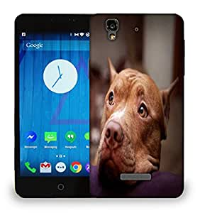 Snoogg Dog Waiting Printed Protective Phone Back Case Cover For Micromax Yu Yureka
