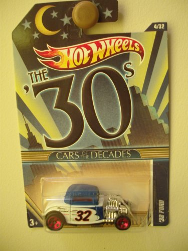 "2011 Hot Wheels CARS OF THE DECADES 30s ""32 Ford"" (Collectible) (Toy) (Diecast) - 1"