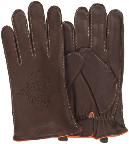 The Robert Graham Men's Siza Gloves features 100% leather, logo cut out detail, and cashmere lining.  Dry clean only.         via Robert Graham Men's Siza Gloves