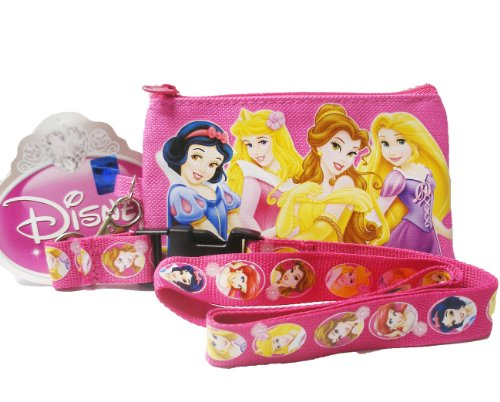 Disney 4 Princess Lanyard - 1