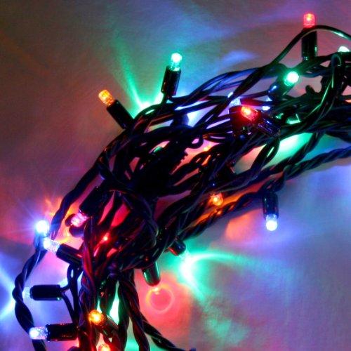 300er LED Lichterkette (3×100), bunt, Außen, anschließbar/verknüpbar, Typ C