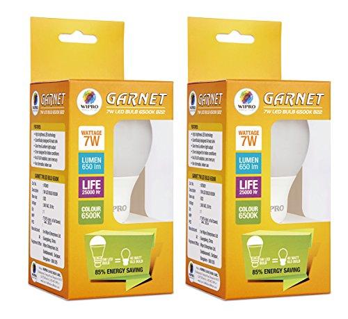 7W-Garnet-LED-Bulb-(Cool-Day-Light-,-pack-of-2)