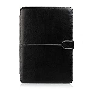 Termichy Faux Leather Laptop Bag for Macbook Air 11.6 Inch in Black Light Weight by Termichy [並行輸入品]