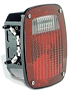Grote Torsion MountTM Three-Stud GMC® Replacement Lamp 50912 Red, LH